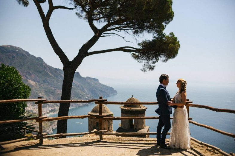 wedding photographer in Ravello and Amalfi Coast