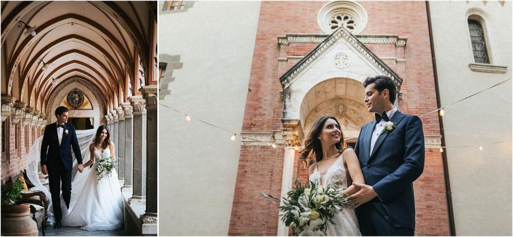 Foto di matrimonio al castello di Valenzano in Toscana 107