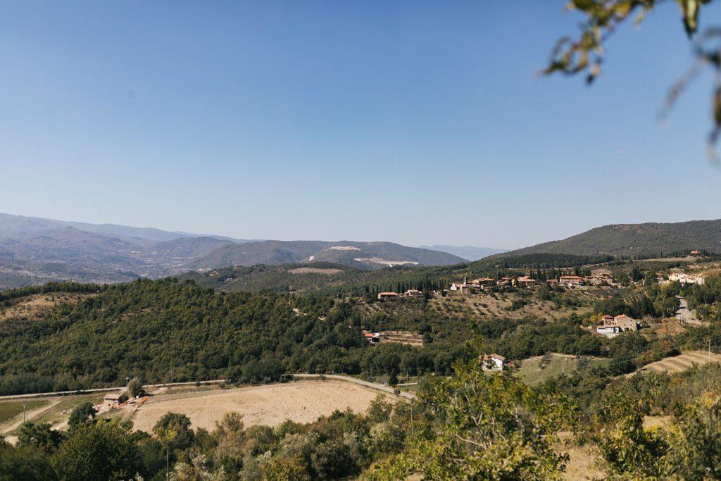 Foto di matrimonio al castello di Valenzano in Toscana 2