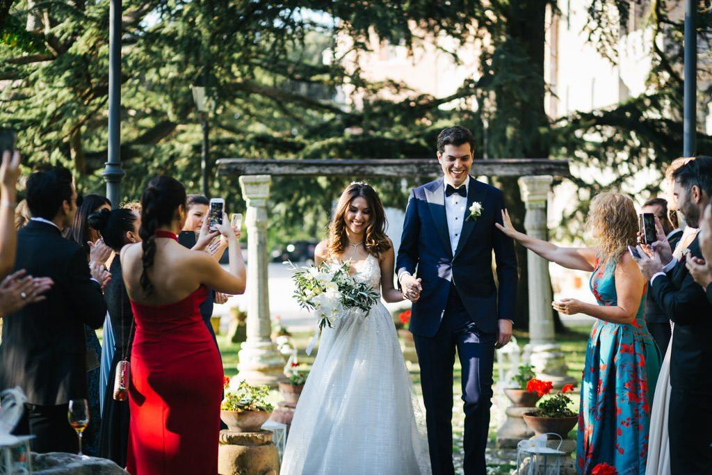 Foto di matrimonio al castello di Valenzano in Toscana 33