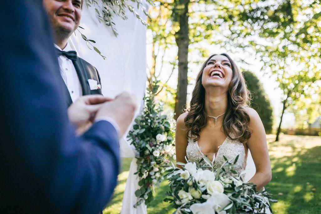 un elegante e divertente matrimonio turco in toscana