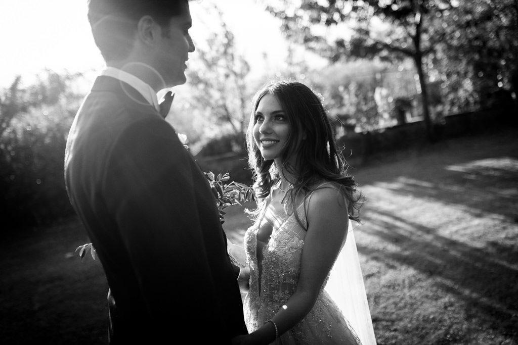 Foto di matrimonio al castello di Valenzano in Toscana