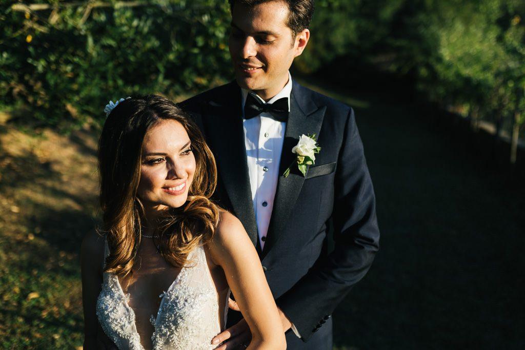 Foto di matrimonio al castello di Valenzano in Toscana 48