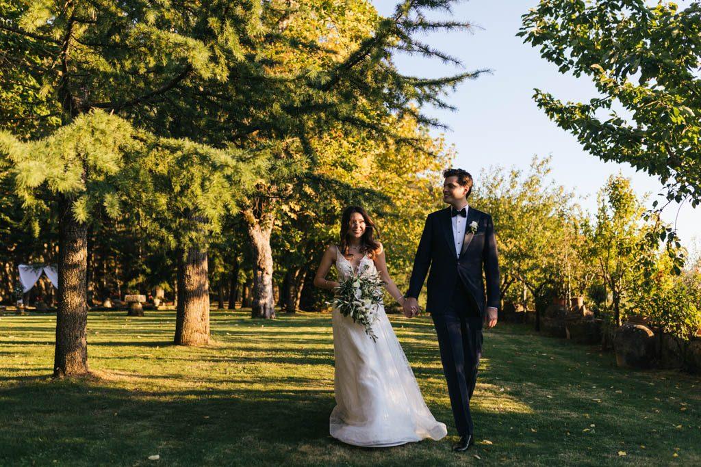 Foto di matrimonio al castello di Valenzano in Toscana 49