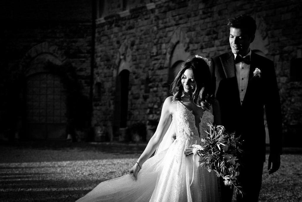 Foto di matrimonio al castello di Valenzano in Toscana 54