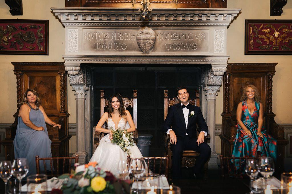 Foto di matrimonio al castello di Valenzano in Toscana 65