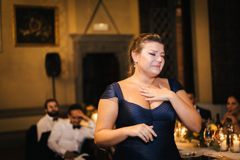 Foto di matrimonio al castello di Valenzano in Toscana 69