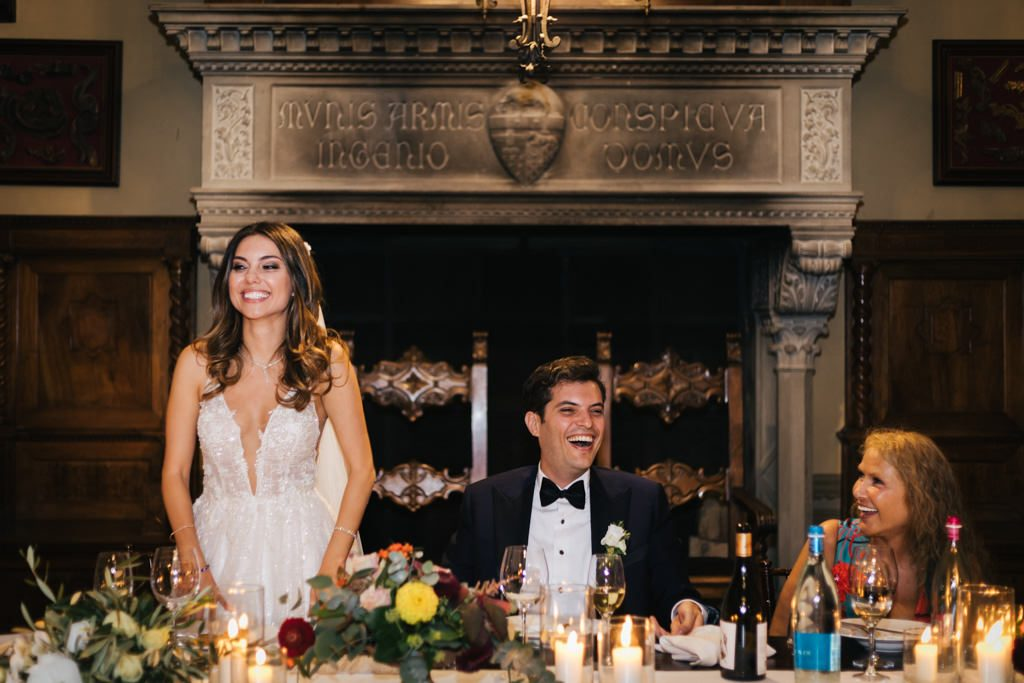 Foto di matrimonio al castello di Valenzano in Toscana 71