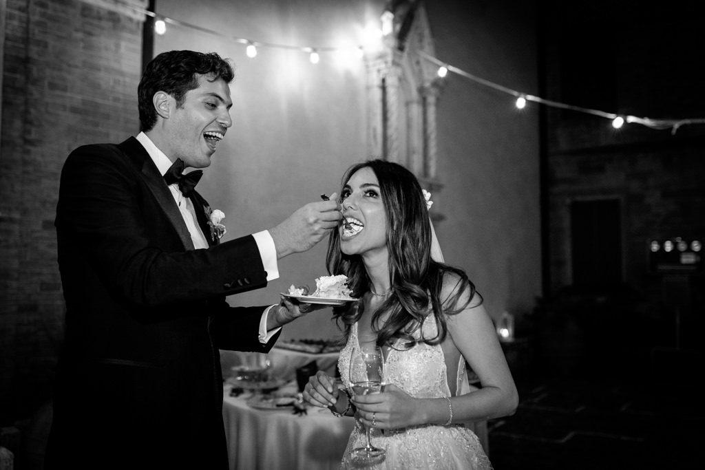 Foto di matrimonio al castello di Valenzano in Toscana 78