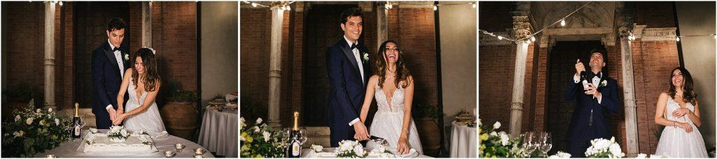 Foto di matrimonio al castello di Valenzano in Toscana 98
