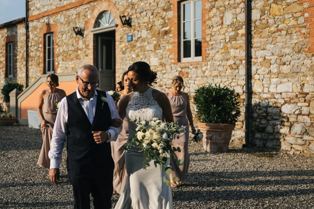 Fotografo di matrimonio a Siena Relais Borgo Scopeto 36