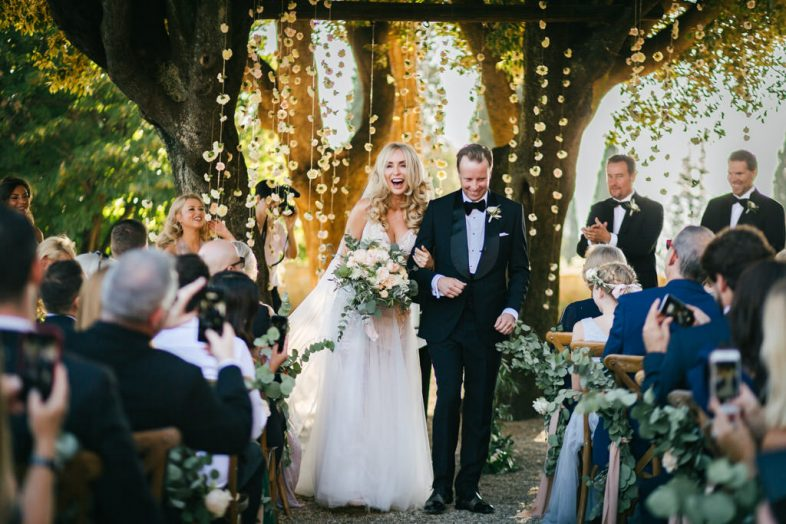 wedding at villa le fontanelle in Florence