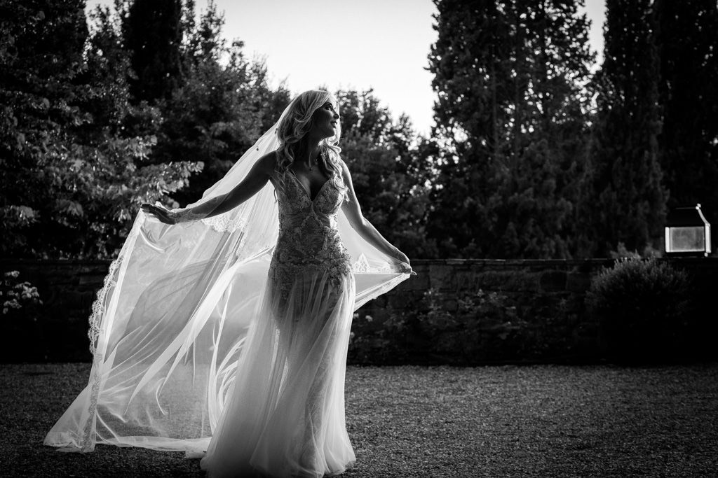 Florence Destination Wedding Photographer at Villa Le Fontanelle