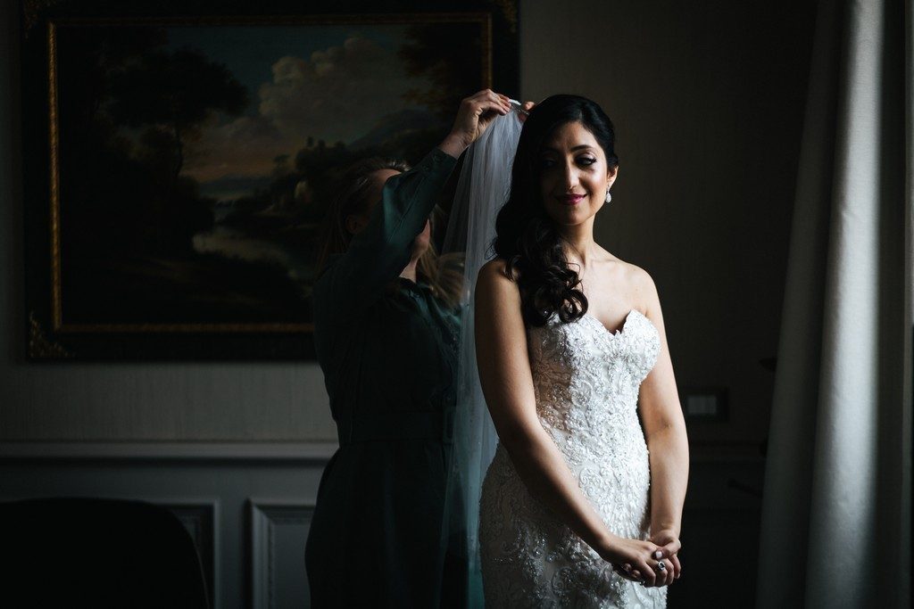 wedding photographer in Florence at Palazzo Borghese 11