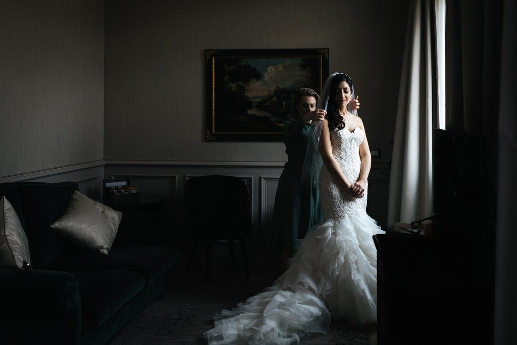wedding photographer in Florence at Palazzo Borghese 12