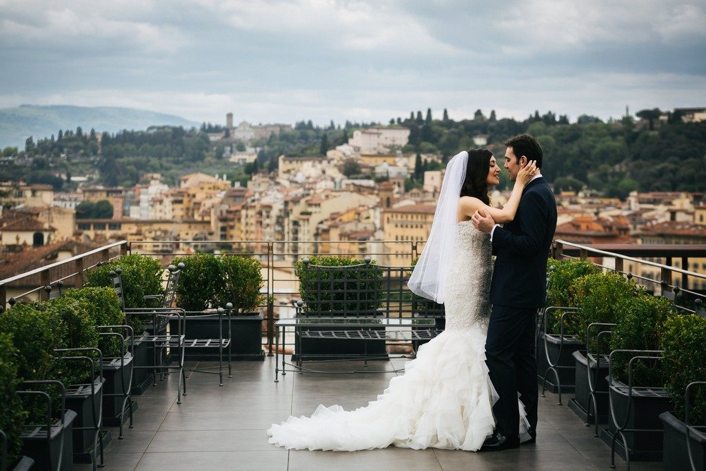 wedding photographer in Florence at Palazzo Borghese 16