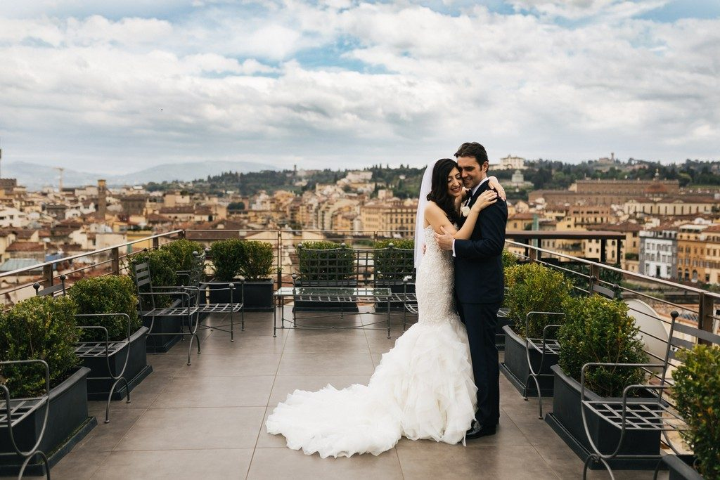 wedding photographer in Florence at Palazzo Borghese 17