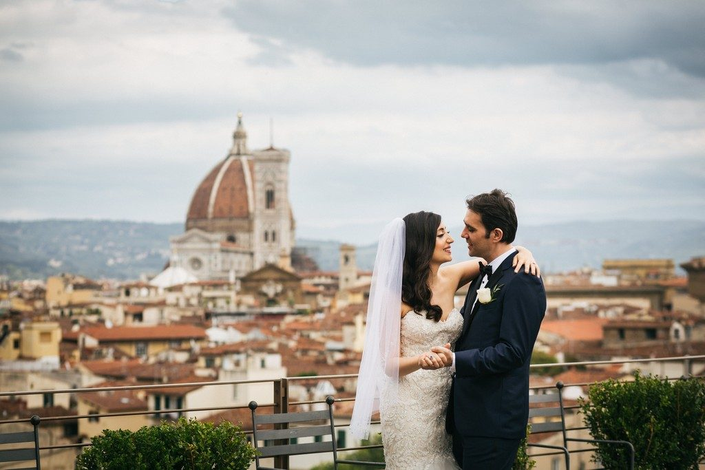 wedding photographer in Florence at Palazzo Borghese 18
