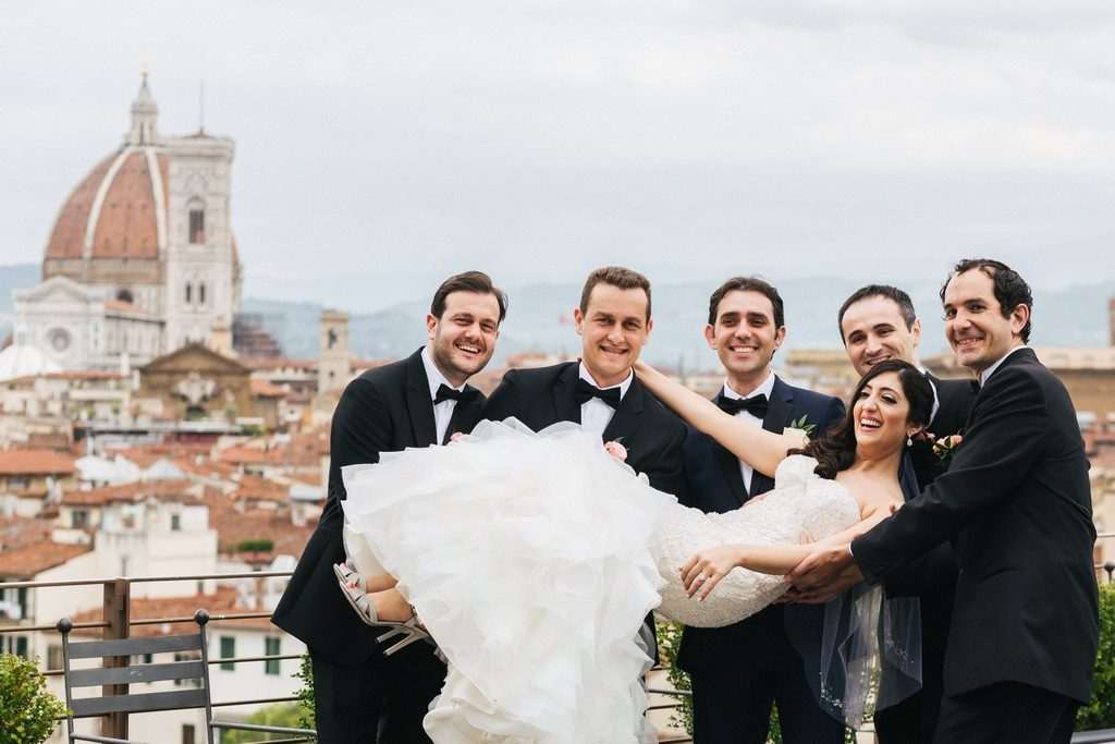 wedding photographer in Florence at Palazzo Borghese 19