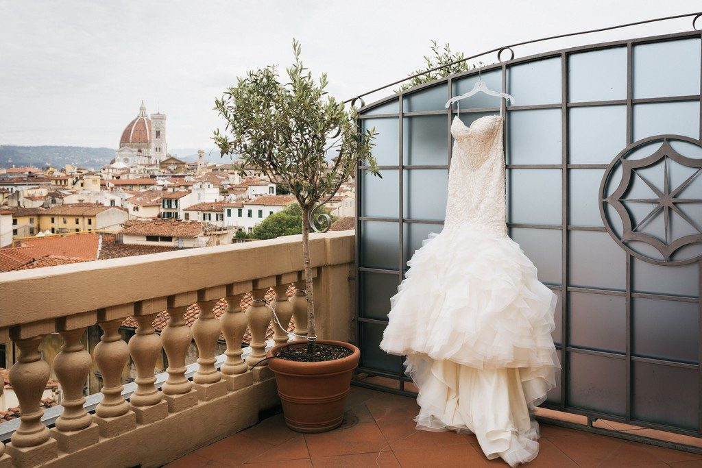 wedding photographer in Florence at Palazzo Borghese 2