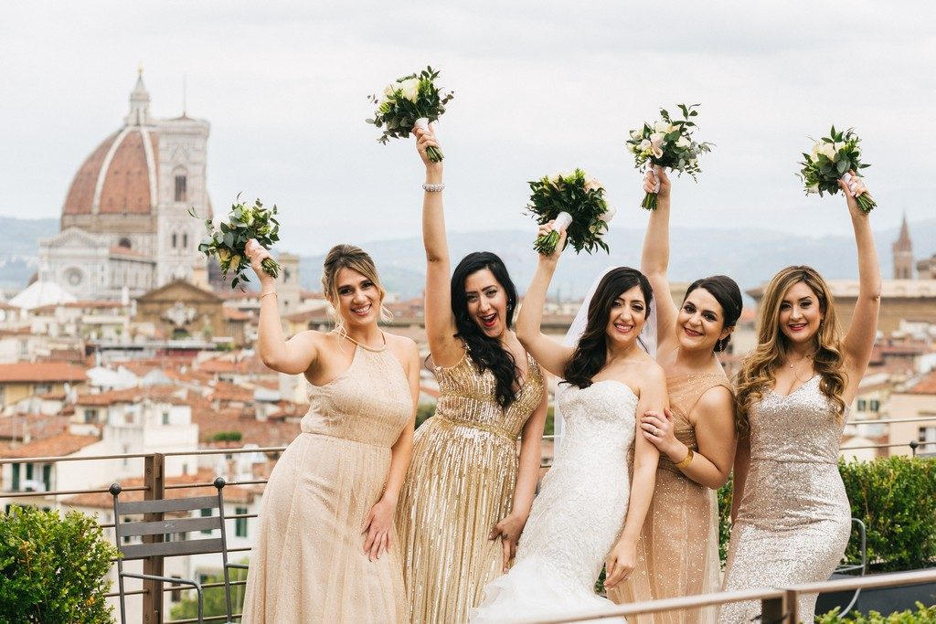 wedding photographer in Florence at Palazzo Borghese 20