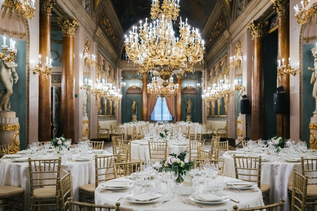 wedding photographer in Florence at Palazzo Borghese 39