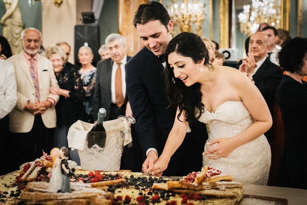 wedding photographer in Florence at Palazzo Borghese 58