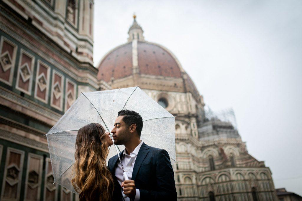 Fotografa di fidanzamento a Firenze 1