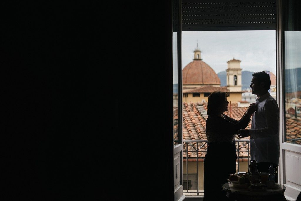 Wedding photographer in Florence at Palazzo Borghese