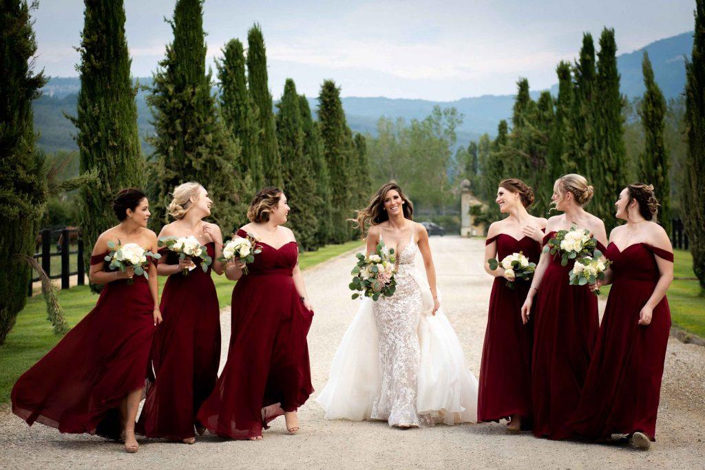 Fotografie di matrimonio a Il Borro