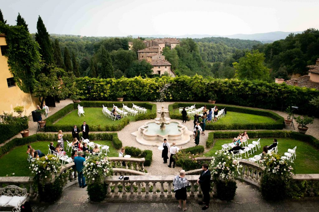 Wedding photos at Il Borro