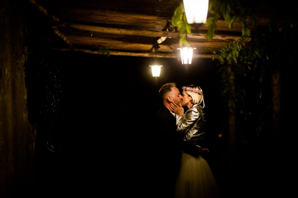 Intimate Wedding in Val d'Orcia at Locanda in Tuscany