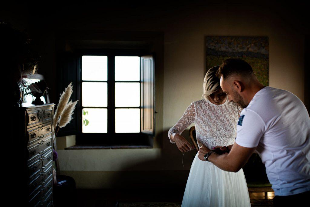 Matrimonio intimo in val dorcia 168
