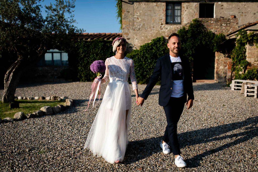 Matrimonio intimo in val dorcia 176
