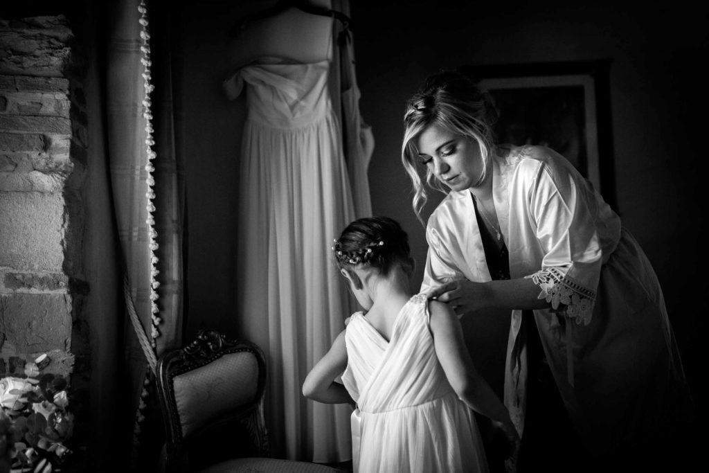 wedding photos in tuscany