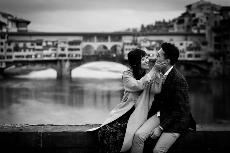 wedding proposal in florence