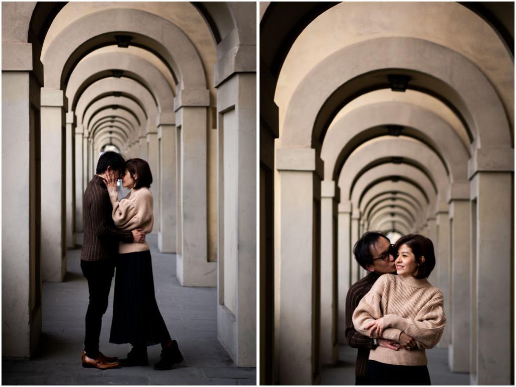 foto di coppia a firenze