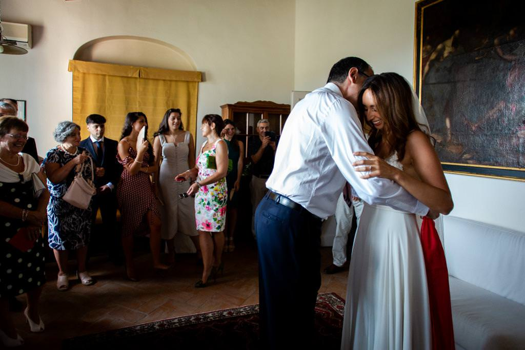 Wedding Photo Shoots In Florence at Villa le Piazzole