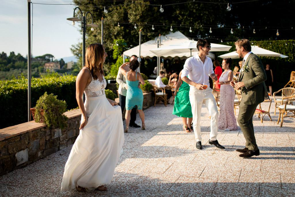Wedding Photo Shoots In Florence at Villa le Piazzole - Laura Barbera Photography