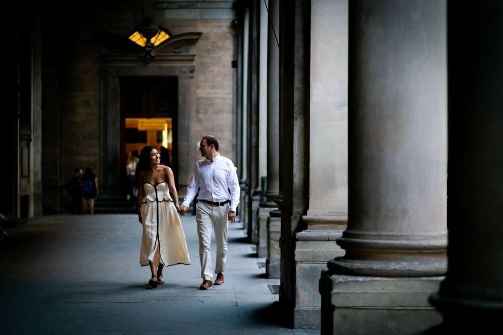 Fotografie dellanniversario di matrimonio a Firenze 13