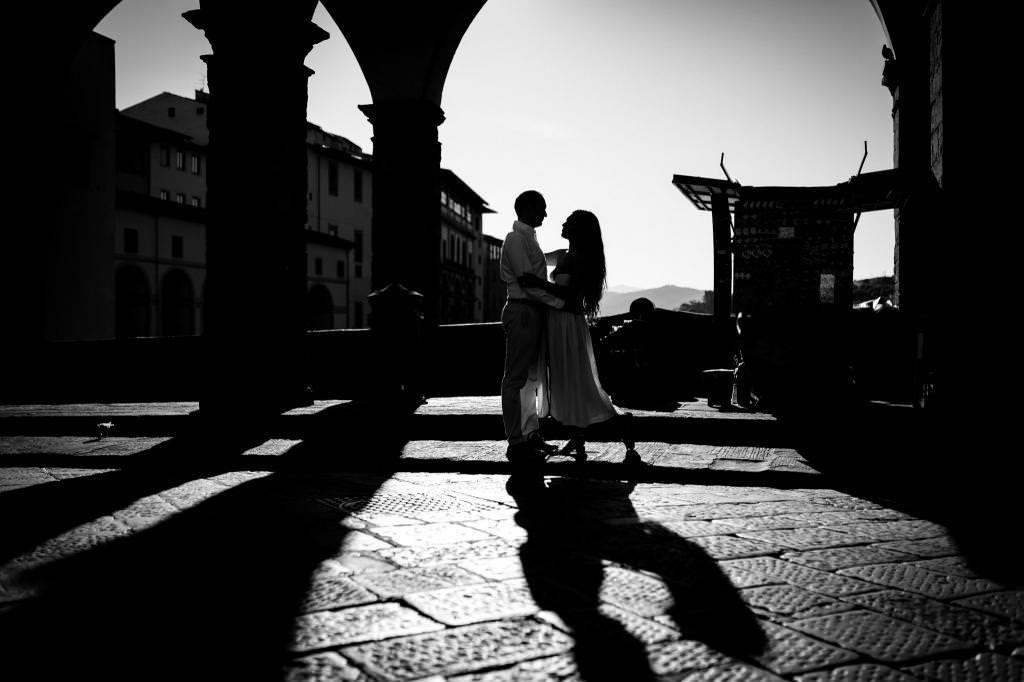 Fotografie dellanniversario di matrimonio a Firenze 20