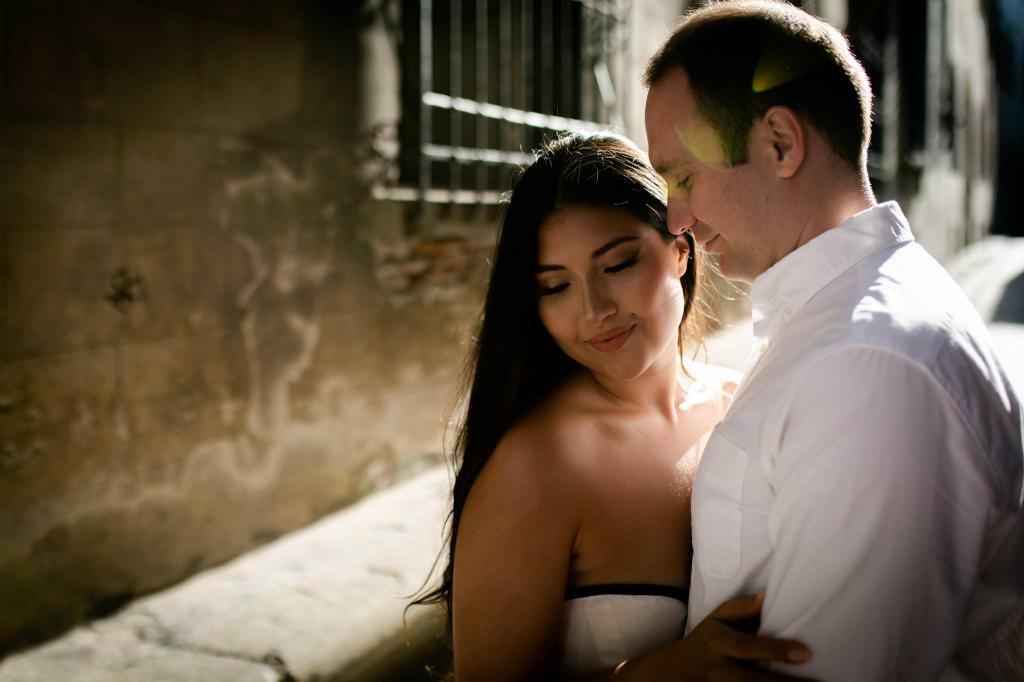 Fotografie dell'anniversario di matrimonio a Firenze