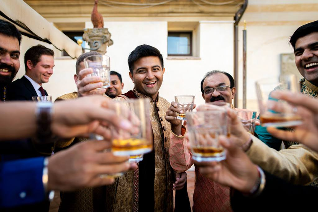 Indian Wedding In Florence at Villa Le Piazzole