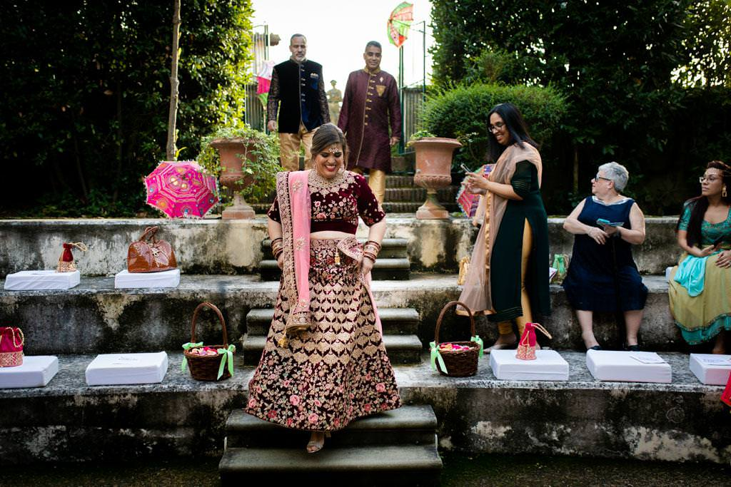 Indian Wedding In Florence at Villa Le Piazzole by Laura Barbera Photography