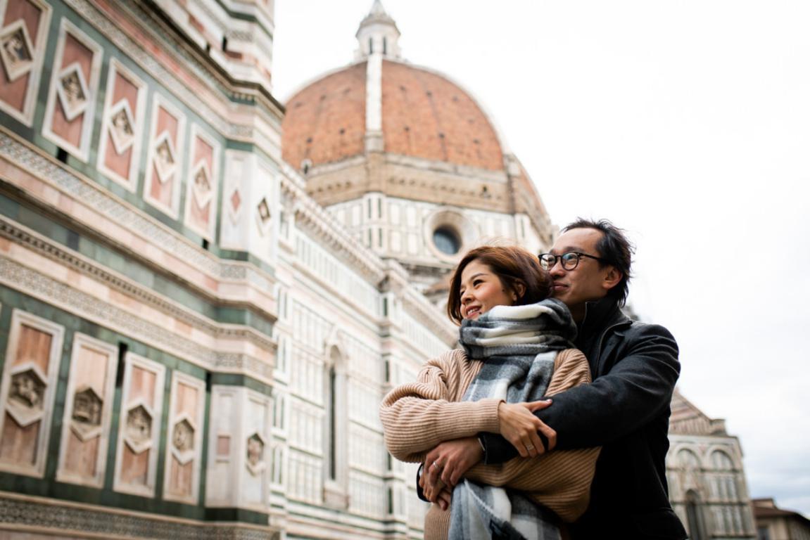 foto di fidanzamento e di matrimonio a Firenze