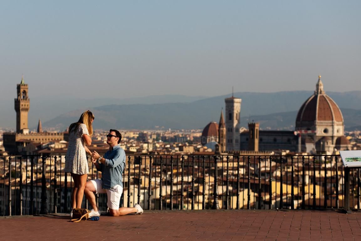 Proposta di matrimonio a Firenze