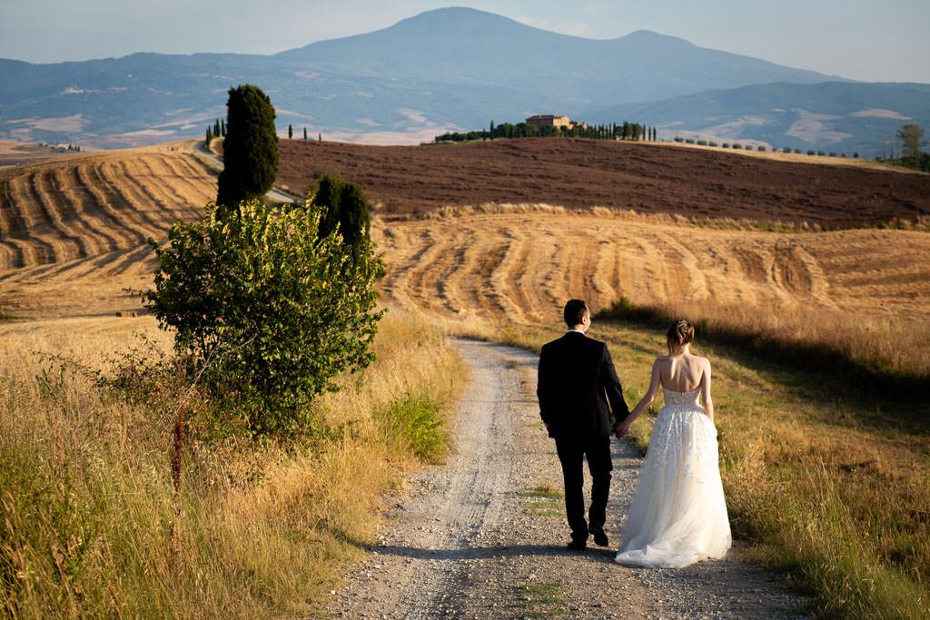 Foto di matrimonio Dimora Buonriposo in Val d'Orcia
