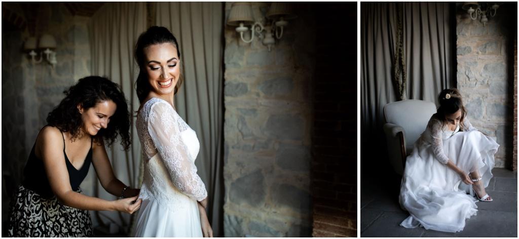 Styled shoot di matrimonio a Villa le Fontanelle
