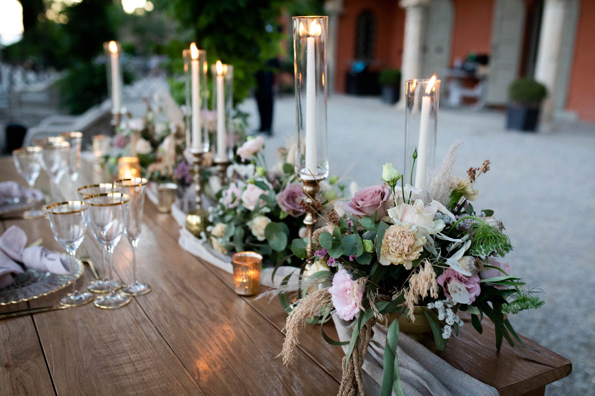 Wedding styled shoot in Florence at Villa le Fontanelle