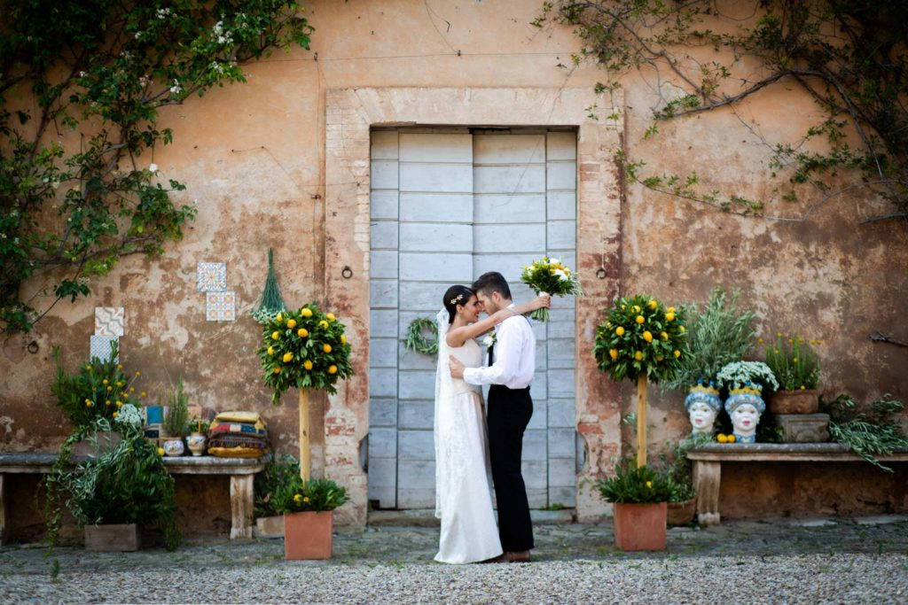 Wedding styled shoot In Siena: Sicilian style wedding in Tuscany